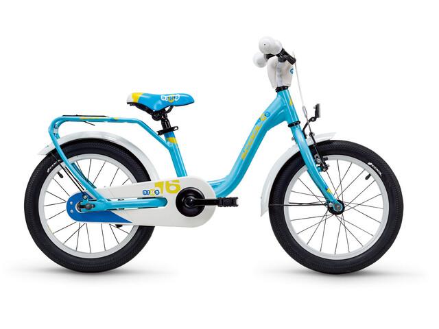 s'cool niXe 16 Rower dziecięcy  alloy niebieski